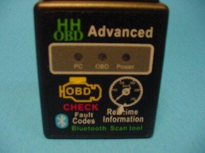 Fits BMW OBD2 OBDII Advanced  Wireless Bluetooth Scanner Error Code Reader Tool ()