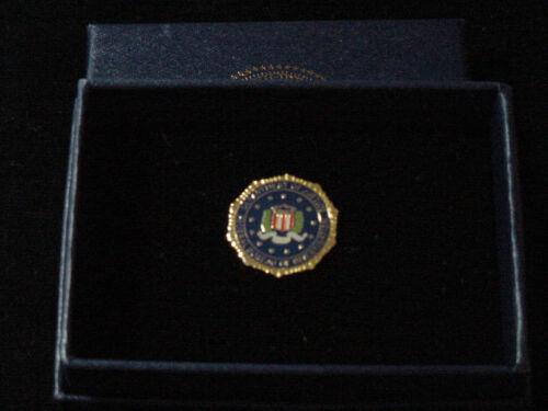 FBI Lapel Pin   color seal New