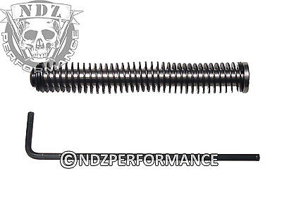 New G3 Guide (NDZ Stainless Steel Recoil Guide Rod Assembly for Glock GEN 1-3 - Choose Spring )