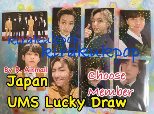 (ChooseUMS)(R.Airmail) BTS BE DELUXE JAPAN UMS LUCKY DRAW HOLOGRAM Photocard