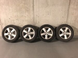 4 Summer tires for sale with mags