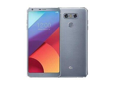 LG G6 - 32GB - Ice Platinum (GSM Unlocked) International Smartphone