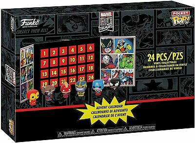 Funko MARVEL Advent Calendar Pocket Pop! 24 Pieces Pcs Sealed 2019 Gift Toys