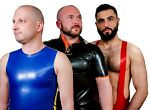 Rubberpigs mens rubber clothing