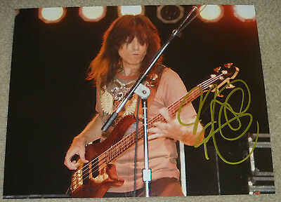 Rudy Sarzo Authentic Signed 8X10 Photo Autographed  Guitarist