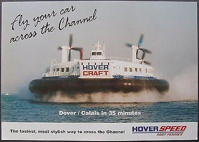 Hoverspeed SRN4 Hovercraft Poster
