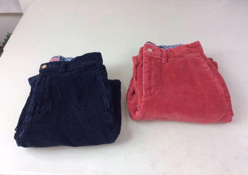 VINEYARD VINES Corduroy Pants Set of two Youth Kids 12