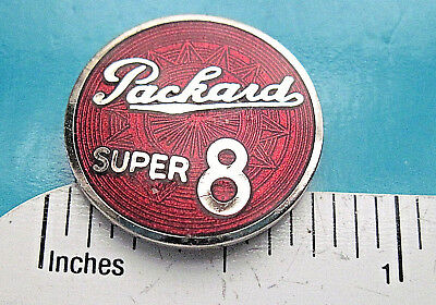 PACKARD  SUPER  8  - hat pin ,  lapel pin , tie tac , hatpin GIFT BOXED Q for sale  Weimar