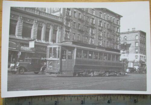 Orig 1940s? TARS 3rd Ave Railway Trolley Lenox Av New York City NYC Photo
