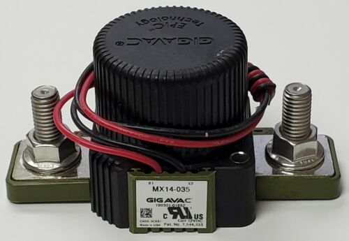 NEW Gigavac MX14-035 Cage 3CXS7 Coil 12VDC DC Contactor