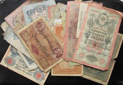 Set of 42 Old Banknotes