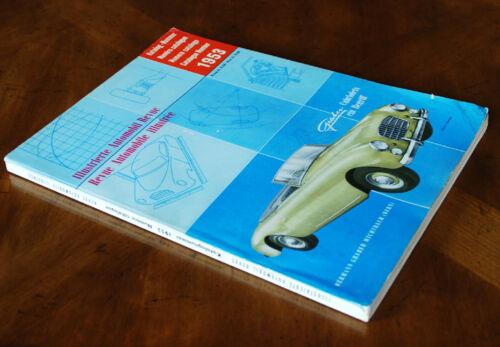 1953 Automobile Revue Catalogue (Hallwag)