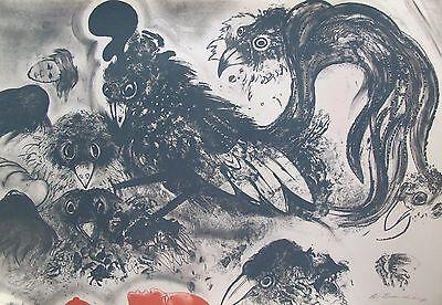Купить ROBERT BEAUCHAMP Hand Signed Original Limited Edition Art Lithograph THE DREAM