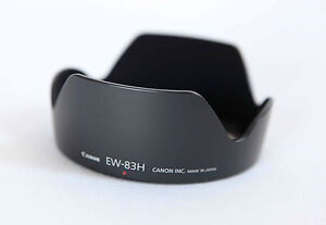 Genuine Canon EW-83H Lens Hood 24-105mm IS -- NEW --  in USA
