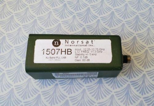 Norsat 1507HB Ku-Band  PLL LNB, 12.25-12.75 GHz