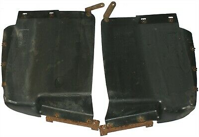 Discovery 2 Td5 V8 98-02 Front Bumper Splash Guard Liners Pair RH Right LH Left