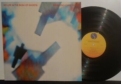 BRIAN ENO - DAVID BYRNE 1981 VINYL LP MY LIFE IN THE BUSH OF GHOSTS NM VPI NR