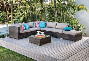 Brand New Outdoor Wicker Lounge Marion Marion Area Preview