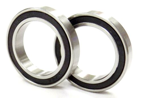 Qty 2 6805 RS 6805 2RS Bearings ABEC 3 25 x 37 x 7 6805 RS Dub Spinners 2P96
