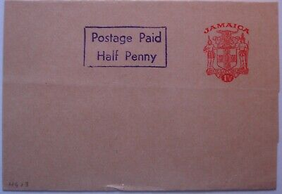 1964: 1½d red Newspaper Wrapper with boxed 'Postage Paid Half Penny'. Mint.