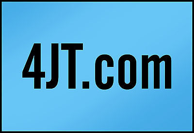 4JT.COM  ----3 Letter Character  Domain Name LLL NLL----