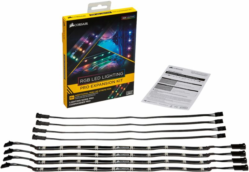 CORSAIR - RGB LED Lighting PRO Expansion Kit