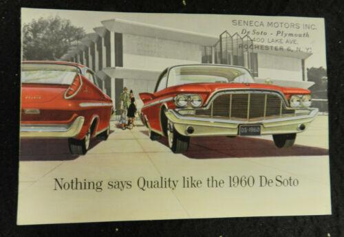 1960 DESOTO AUTO CAR SALES BROCHURE