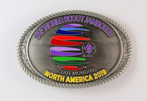 2019 World Scout Jamboree Belt Buckle - Boy Scouts of America Mondial