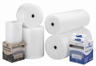 50m x 750mm Large Bubble Wrap Packaging Storage Shipping Safety Cushioning Roll