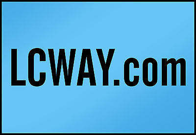 LCWAY.com   PREMIUM Domain Name LLLLL 5 Letters