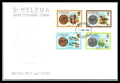 GP GOLDPATH: ST HELENA COVER 1984 FIRST DAY COVER _CV676_P09