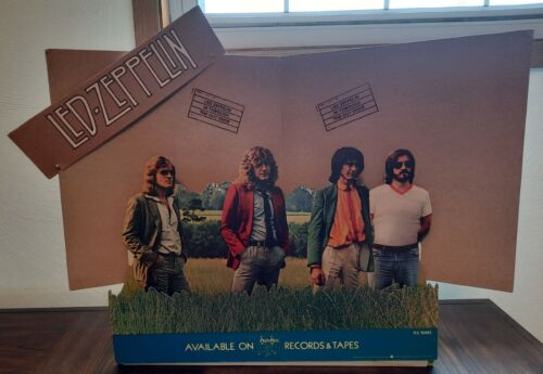 Led Zeppelin-1979 IN THROUGH THE OUT DOOR Rare Cardboard Stand-Up Promo Display