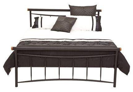 Amart Furniture Persian Queen Bed & Mattress - Excellent Condition