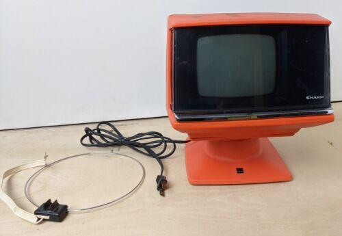 SPACE AGE Sharp Transistor Television Orange 3S-111R WORKS Original Users Manual