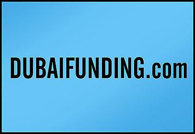 DubaiFunding.COM  ----All Letter Domain Name----
