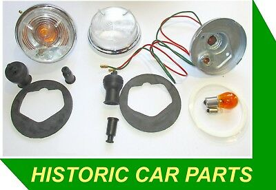 SIDE CLEARFLASHER AMBER BULB ASSYS for MORRIS Minor 1000 TOURER 1962 71