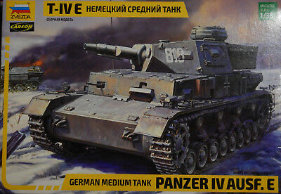 Zvezda 3641 - German Medium Tank Panzer IV Ausf. F