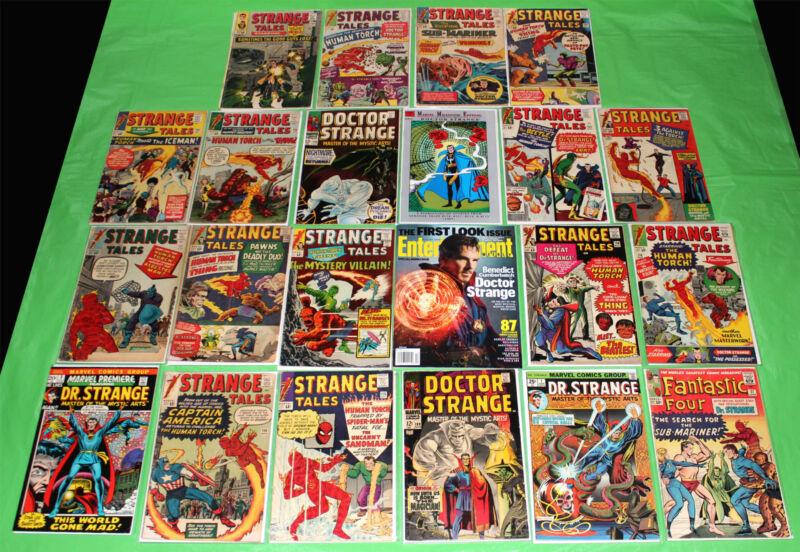 Doctor Strange 1 EPIC Collection 169 Strange Tales 111 114 115 126 21 issue lot