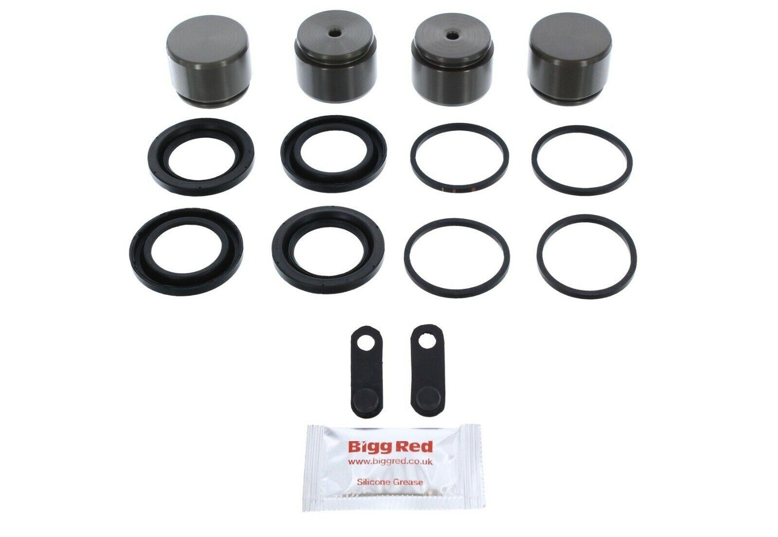 F450 2010-2012 Disc Brake Caliper Repair Kit /& pistons Ford F350 2005-2012