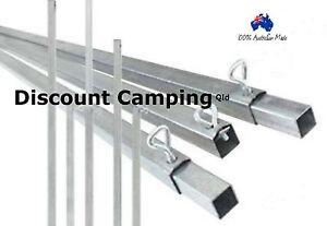 24ft 730cm Ridge Spreader Bar Square Australian Made #Free Freight# Heavy Duty