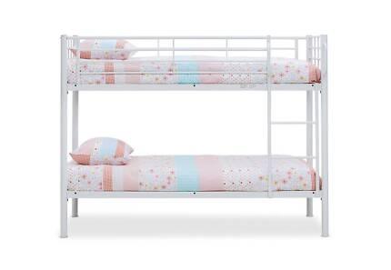 Kids single bunk bed frame