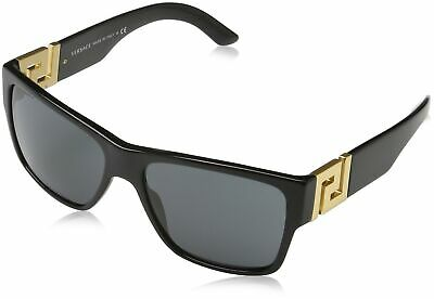 Versace Men's VE4296 Sunglasses Black/Gray 59mm