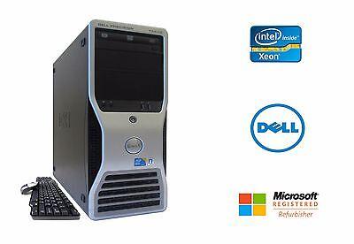 Dell Precision T5500 Workstation Xeon 8 Cores 2.4GHz 16GB RAM 1TB NVIDIA Win 10