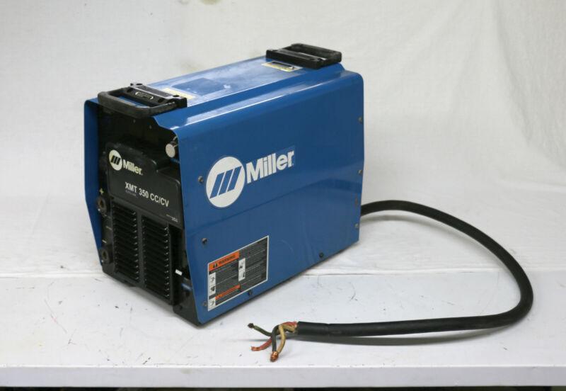 2012 Miller Electric 907161 - XMT 350 Inverter Welder CC/CV Multiprocess Welding