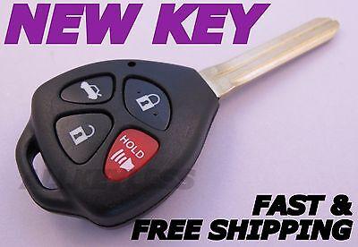 TOYOTA CAMRY master key keyless entry remote fob transmitter clicker HYQ12BBY