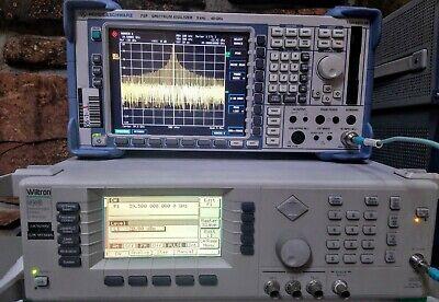 Anritsuwiltron 68369b - Fresh Cal Nist - Opts 2b11 40 Ghz Signal Generator