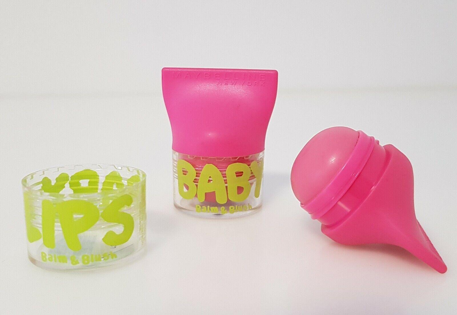 Maybelline Baby Lips Balm & Rush Lippenbalsam Lippenpflege 02 Flirty Pink