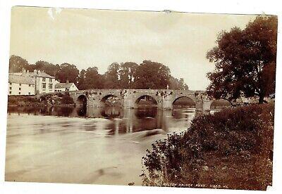 Victorian albumen photo Wilton Bridge Ross on Wye Herefordshire
