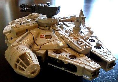 STAR WARS Millennium Falcon Transformer Hasbro Solo Chewbacca – For Display