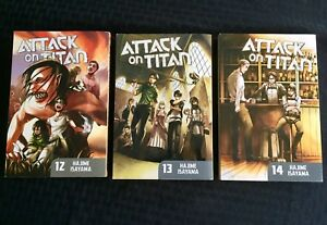 Books - Attack on Titan